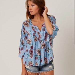 Patrons Of Peace Boho Crop Blouse